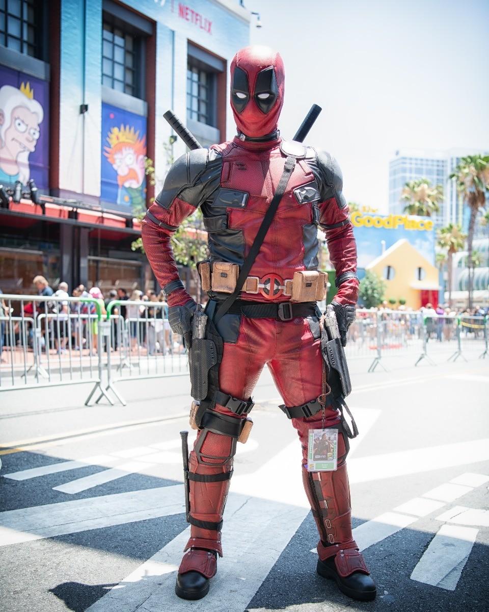 SDCC Deadpool Cosplay